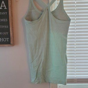 Ebb to street yoga tank mint green size 6